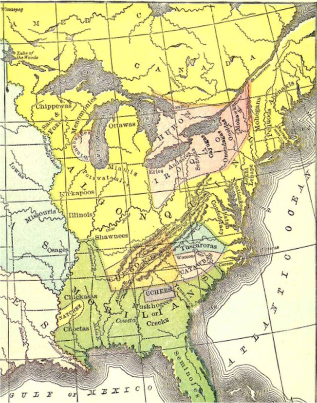 Map Of New York Indian Reservations.Frenchandindianwar Info History Of The French And Indian War 1754 1763
